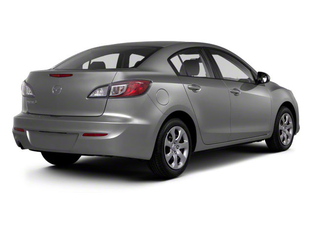 2012 Mazda Mazda3 Prices and Values Sedan 4D i SV side rear view