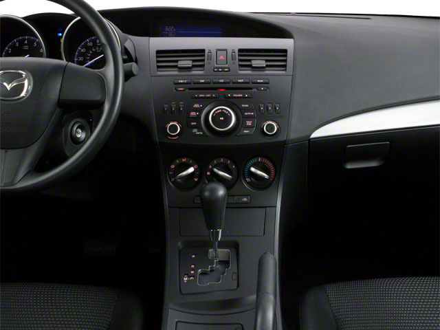 2012 Mazda Mazda3 Prices and Values Sedan 4D i Touring SkyActiv center console