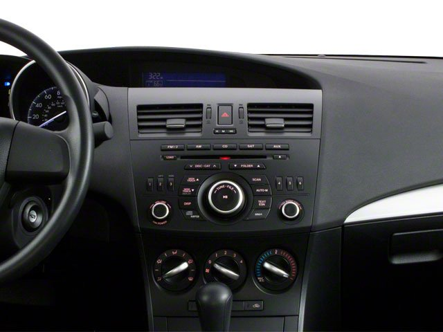 2012 Mazda Mazda3 Prices and Values Sedan 4D i SV center dashboard