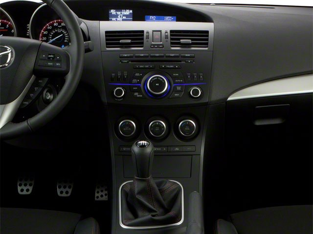2012 Mazda Mazda3 Prices and Values Wagon 5D SPEED center console