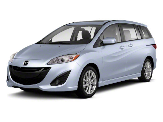 2012 Mazda Mazda5 Prices and Values Wagon 5D Touring side front view