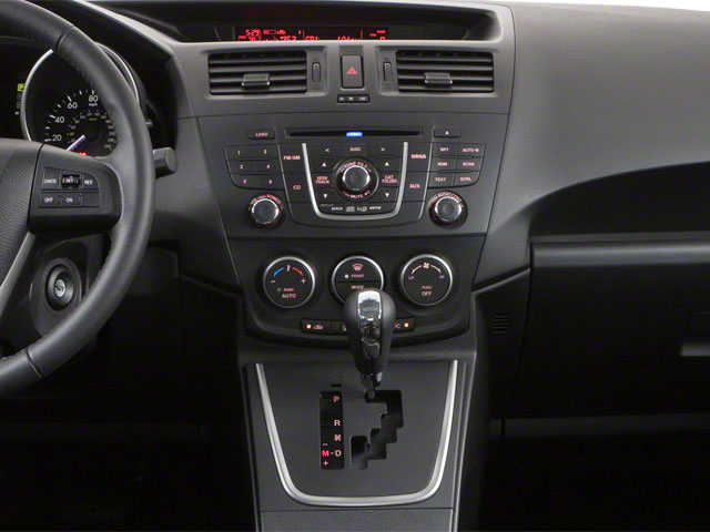 2012 Mazda Mazda5 Prices and Values Wagon 5D Touring center console