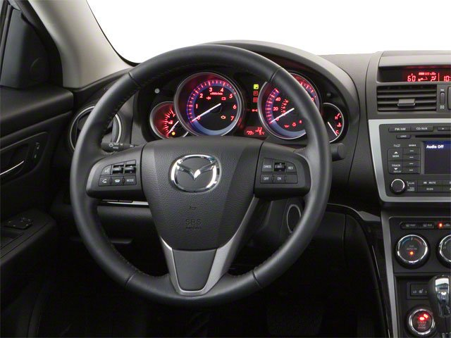 2012 Mazda Mazda6 Prices and Values Sedan 4D i Touring driver's dashboard