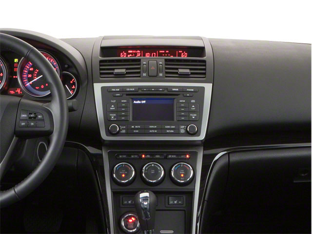 2012 Mazda Mazda6 Prices and Values Sedan 4D i Touring Plus center dashboard