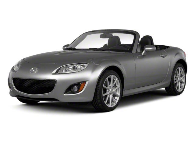 2012 Mazda MX-5 Miata Prices and Values Convertible 2D Sport side front view