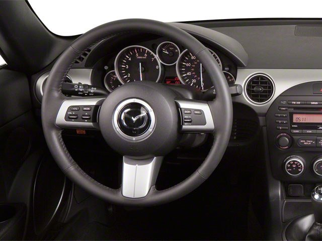 2012 Mazda MX-5 Miata Prices and Values Convertible 2D Sport driver's dashboard
