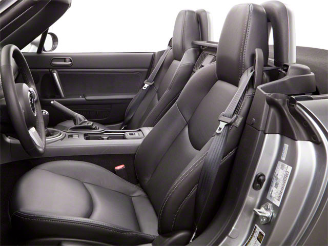 2012 Mazda MX-5 Miata Prices and Values Hardtop 2D SE front seat interior
