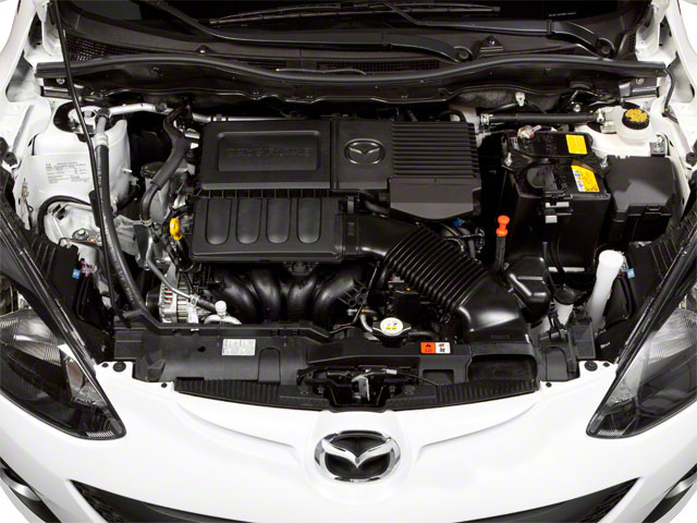 2012 Mazda Mazda2 Pictures Mazda2 Hatchback 5D photos engine