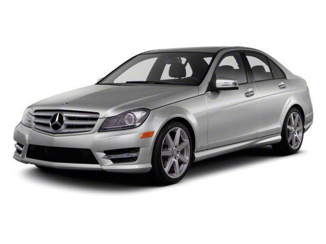 2012 Mercedes-Benz C-Class Prices and Values Sedan 4D C250 side front view