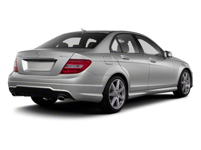2012 Mercedes-Benz C-Class Prices and Values Sedan 4D C250 side rear view