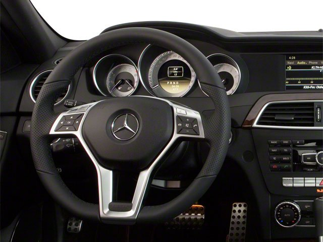 2012 Mercedes-Benz C-Class Pictures C-Class Sedan 4D C63 AMG photos driver's dashboard