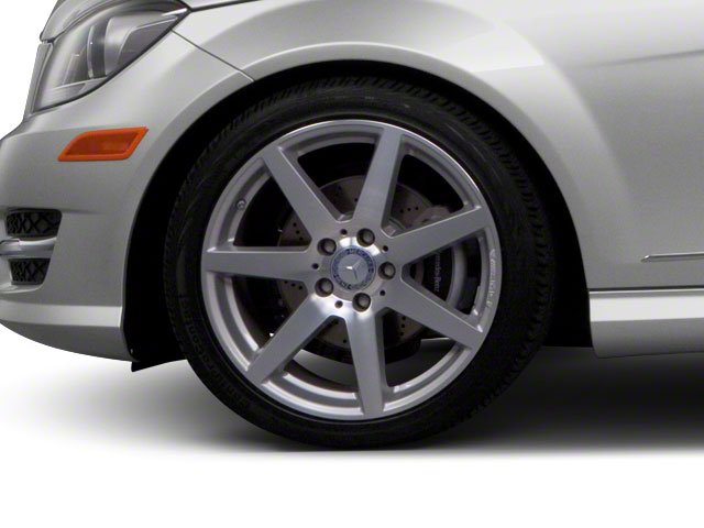 2012 Mercedes-Benz C-Class Prices and Values Sport Sedan 4D C250 wheel