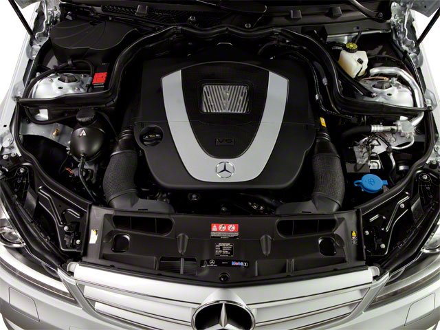 2012 Mercedes-Benz C-Class Pictures C-Class Sedan 4D C63 AMG photos engine