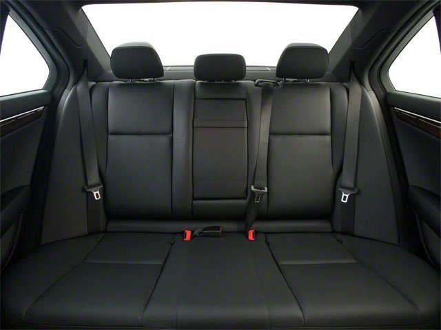 2012 Mercedes-Benz C-Class Prices and Values Sport Sedan 4D C250 backseat interior