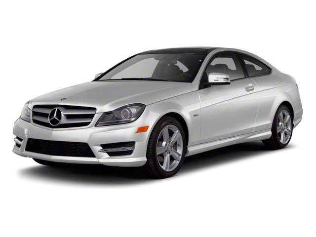 2012 Mercedes-Benz C-Class Prices and Values Coupe 2D C63 AMG side front view