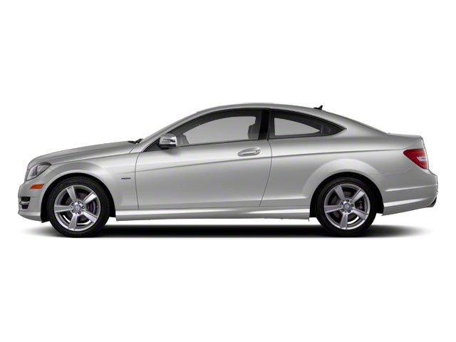 2012 Mercedes-Benz C-Class Prices and Values Coupe 2D C63 AMG side view