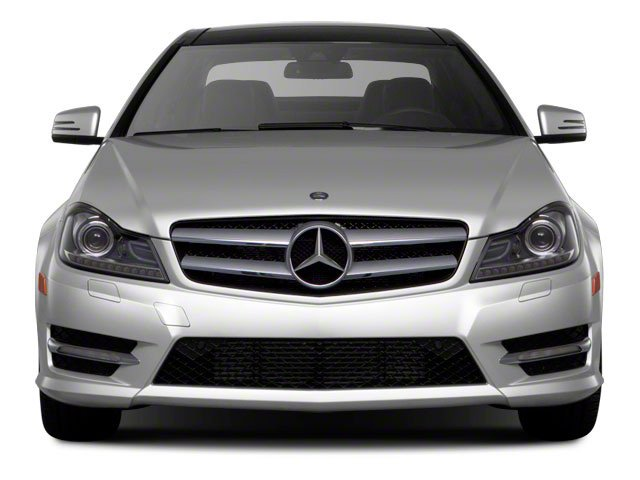 2012 Mercedes-Benz C-Class Prices and Values Coupe 2D C63 AMG front view