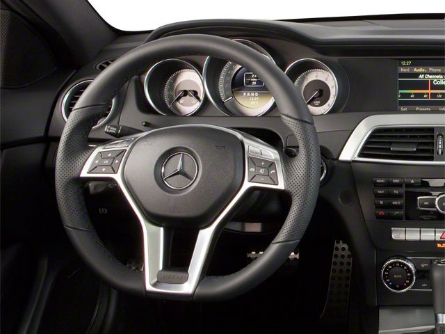 2012 Mercedes-Benz C-Class Pictures C-Class Coupe 2D C63 AMG photos driver's dashboard