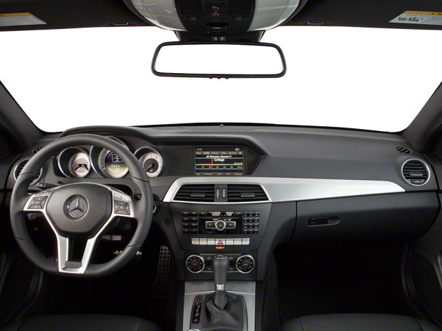 2012 Mercedes-Benz C-Class Prices and Values Coupe 2D C63 AMG full dashboard