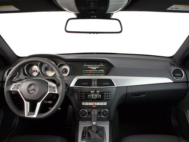 2012 Mercedes-Benz C-Class Pictures C-Class Coupe 2D C63 AMG photos full dashboard