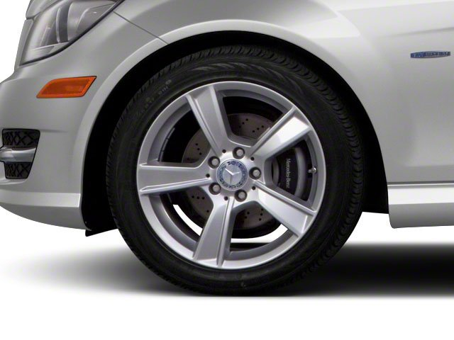 2012 Mercedes-Benz C-Class Prices and Values Coupe 2D C63 AMG wheel