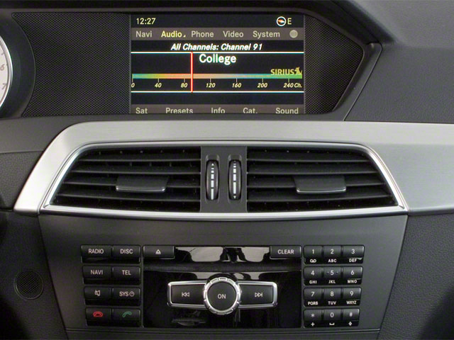 2012 Mercedes-Benz C-Class Prices and Values Coupe 2D C63 AMG navigation system