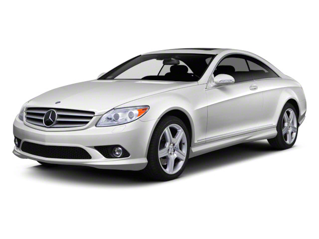 2012 Mercedes-Benz CL-Class Prices and Values Coupe 2D CL63 AMG side front view