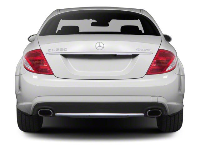 2012 Mercedes-Benz CL-Class Prices and Values Coupe 2D CL63 AMG rear view