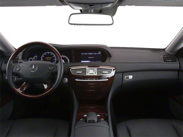 2012 Mercedes-Benz CL-Class Prices and Values Coupe 2D CL63 AMG full dashboard
