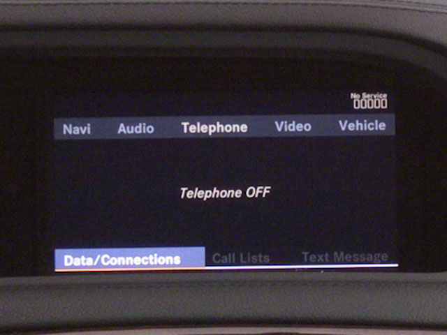 2012 Mercedes-Benz CL-Class Prices and Values Coupe 2D CL63 AMG navigation system