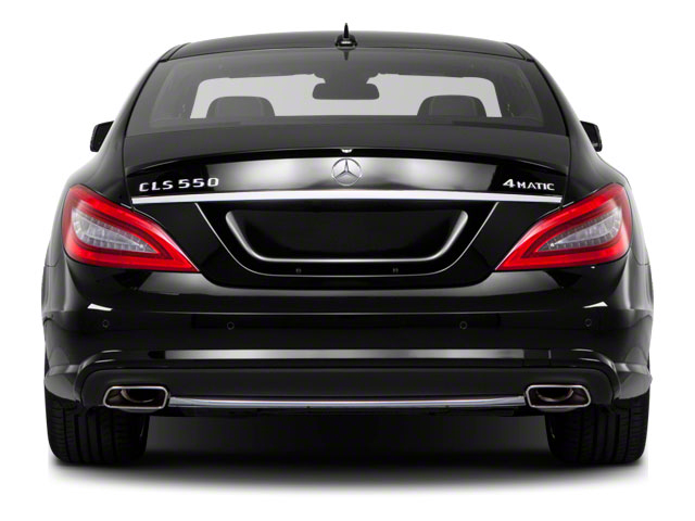 2012 Mercedes-Benz CLS-Class Pictures CLS-Class Sedan 4D CLS63 AMG photos rear view