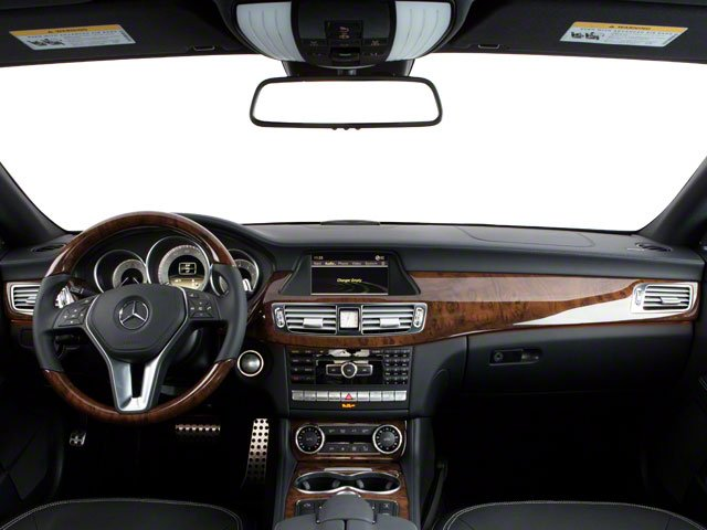 2012 Mercedes-Benz CLS-Class Pictures CLS-Class Sedan 4D CLS63 AMG photos full dashboard