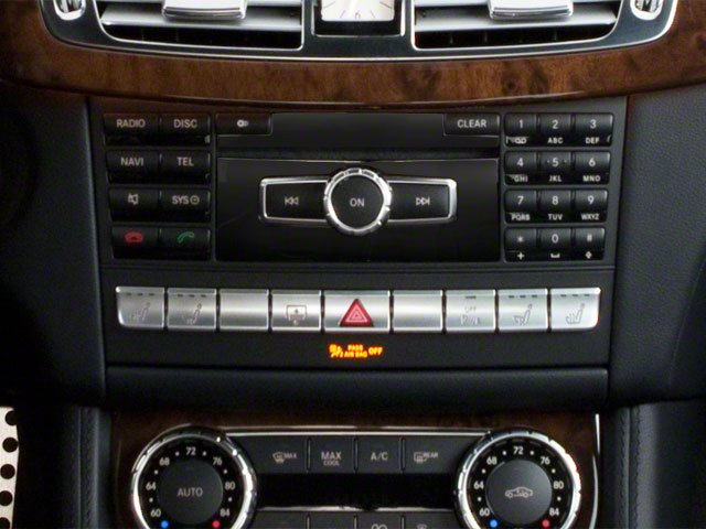 2012 Mercedes-Benz CLS-Class Prices and Values Sedan 4D CLS550 stereo system