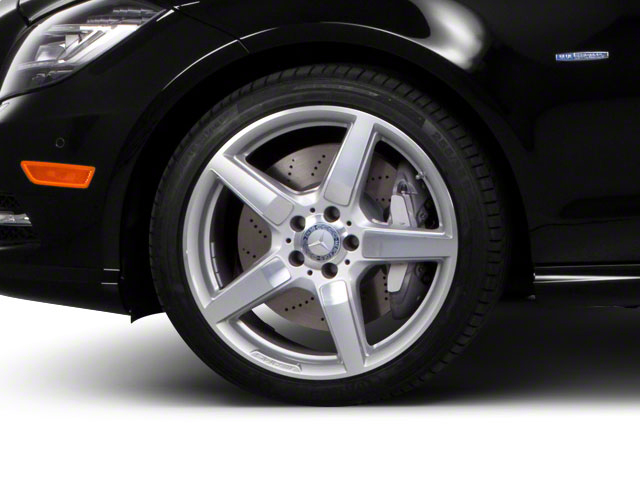 2012 Mercedes-Benz CLS-Class Pictures CLS-Class Sedan 4D CLS63 AMG photos wheel