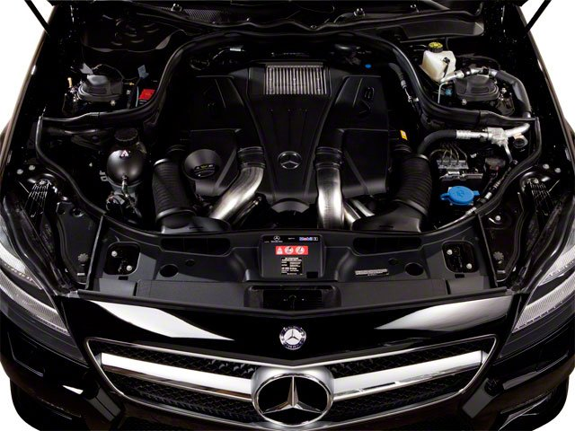 2012 Mercedes-Benz CLS-Class Pictures CLS-Class Sedan 4D CLS63 AMG photos engine