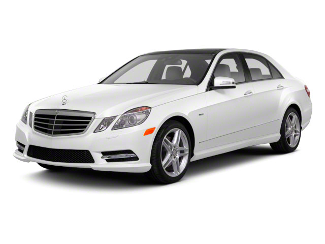 2012 Mercedes-Benz E-Class Pictures E-Class Sedan 4D E550 AWD photos side front view