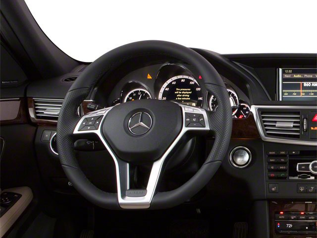 2012 Mercedes-Benz E-Class Pictures E-Class Sedan 4D E550 AWD photos driver's dashboard