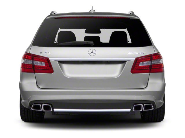 2012 Mercedes-Benz E-Class Prices and Values Wagon 4D E350 AWD rear view