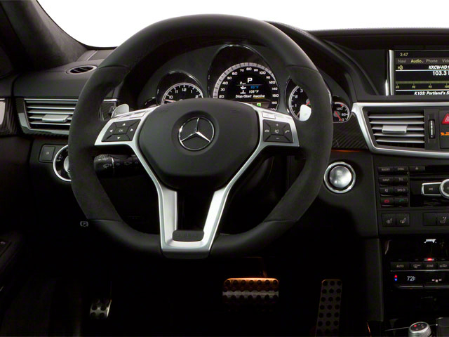 2012 Mercedes-Benz E-Class Prices and Values Wagon 4D E350 AWD driver's dashboard