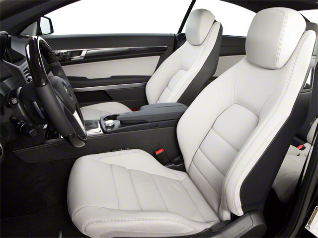 2012 Mercedes-Benz E-Class Prices and Values Coupe 2D E550 front seat interior