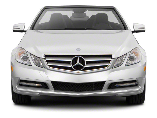 2012 Mercedes-Benz E-Class Prices and Values Convertible 2D E550 front view