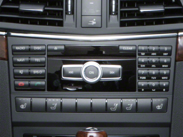 2012 Mercedes-Benz E-Class Prices and Values Convertible 2D E550 stereo system