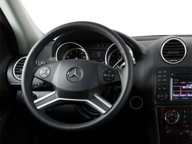2012 Mercedes-Benz GL-Class Prices and Values Utility 4D GL550 4WD driver's dashboard