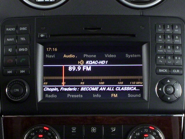 2012 Mercedes-Benz GL-Class Prices and Values Utility 4D GL550 4WD stereo system