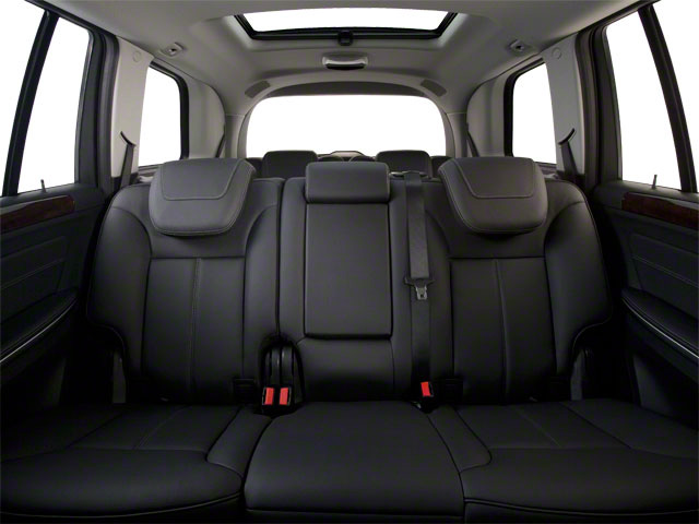 2012 Mercedes-Benz GL-Class Prices and Values Utility 4D GL550 4WD backseat interior