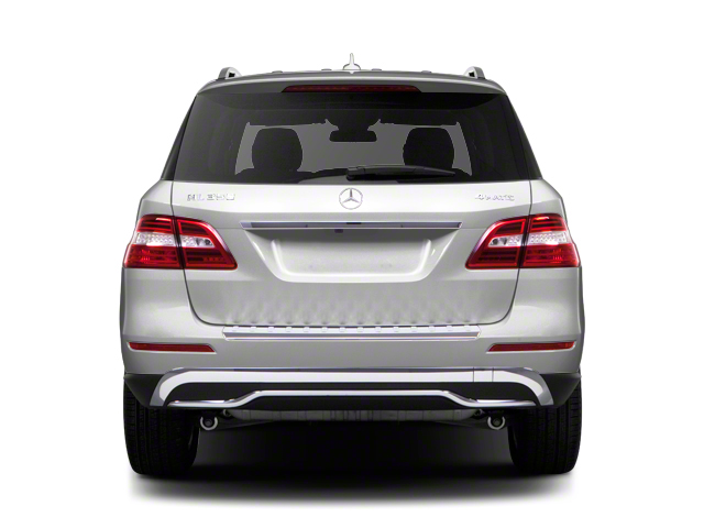 2012 Mercedes-Benz M-Class Prices and Values Utility 4D ML63 AMG AWD rear view