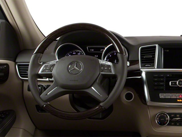 2012 Mercedes-Benz M-Class Prices and Values Utility 4D ML63 AMG AWD driver's dashboard