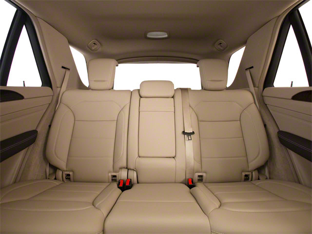 2012 Mercedes-Benz M-Class Prices and Values Utility 4D ML63 AMG AWD backseat interior