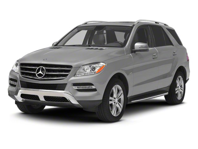 2012 Mercedes-Benz M-Class Pictures M-Class Utility 4D ML350 BlueTEC AWD photos side front view