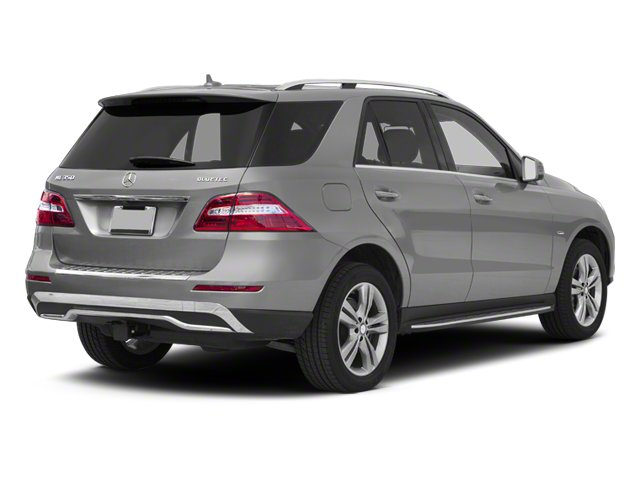 2012 Mercedes-Benz M-Class Pictures M-Class Utility 4D ML350 BlueTEC AWD photos side rear view